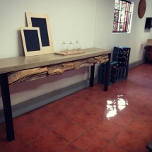 Rustic Natural Server Table