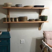 Solid Wood Shelving